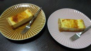 一厘のチーズケーキの写真