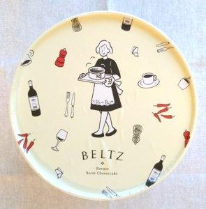 ベルツのチーズケーキの女の子のパッケージ