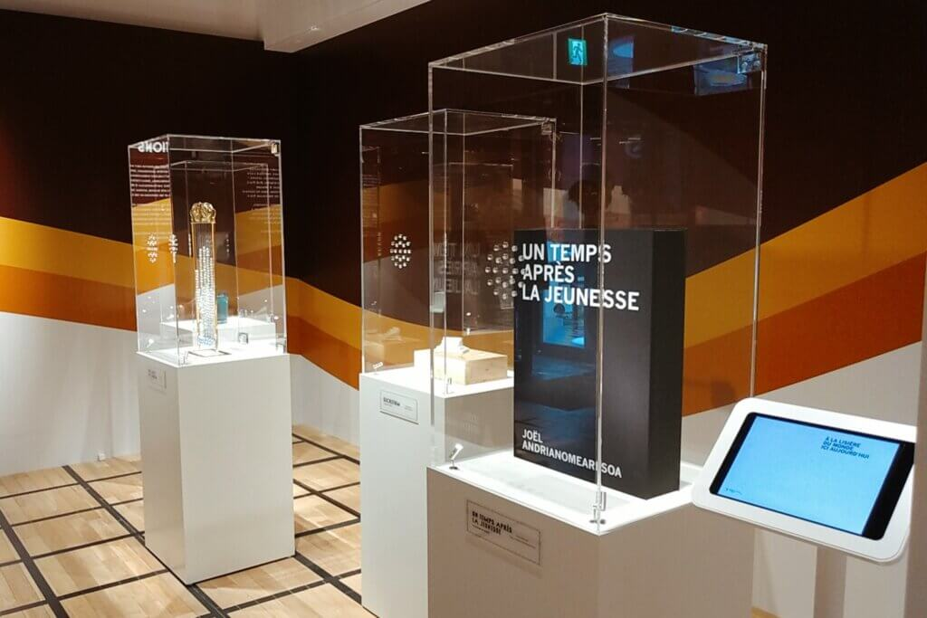 ディプティック「ル・グラン・トゥール」ポップアップイベントの展示